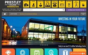 Priestley College Website